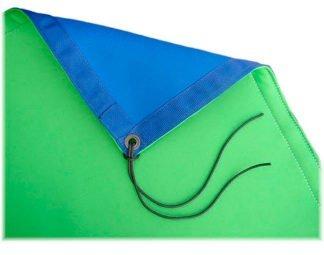 8 ft x 8 ft Blue / Green Reversible Chromakey
