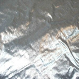 8 ft x 8 ft Silver Lame