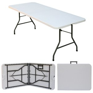 "Fold-In-Half Table / Large 30"" x 72"" ( 76 x 183cm )"