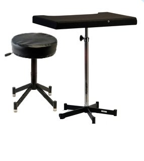 Photogenic Posing Stool and Table