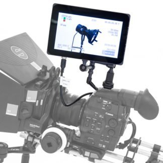 EQ 982 SmallHD on camera