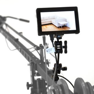 EQ 984 SmallHD on jib