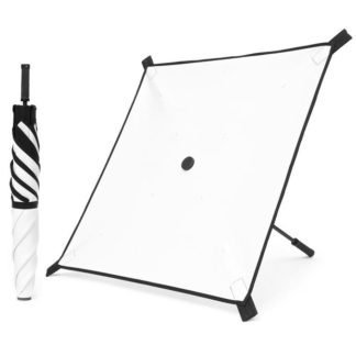 White/Black Square Reflector - SquareBounce