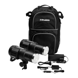 B1X 500 ws Location Kit (2 Light) - Profoto
