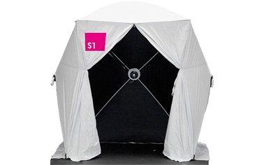 8' x 8' ( 2.4 x 2.4 metres ) Pop Up Tent - Digital Capture