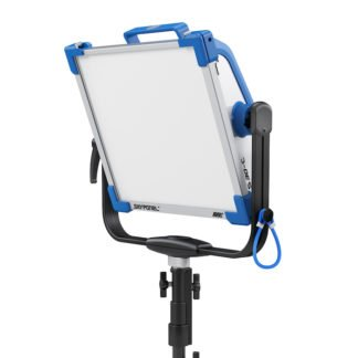ARRI Skypanel S30C angled front w stand