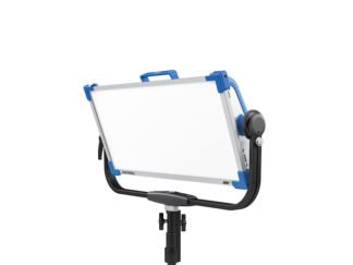 ARRI Skypanel S60C angled front w stand