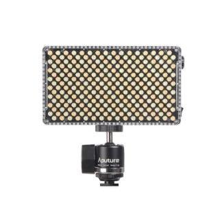 Aputure AL F7 On Camera LED front w cold shoe