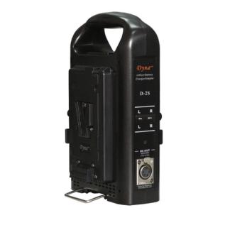 D-2S Dual Battery Charger (V-Mount) 14.8V - Dynacore