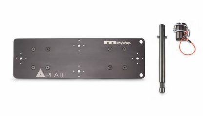 MSE MyWay QuasarPlate Double disassembled