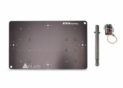MSE MyWay QuasarPlate Quad disassembled