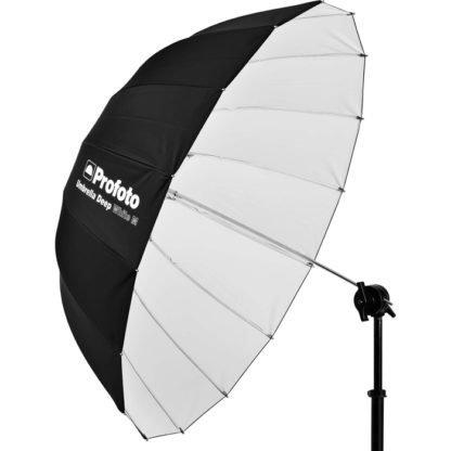 Profoto Medium Deep White Umbrella w stand