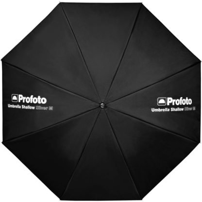 Profoto Medium Shallow Silver Umbrella Front
