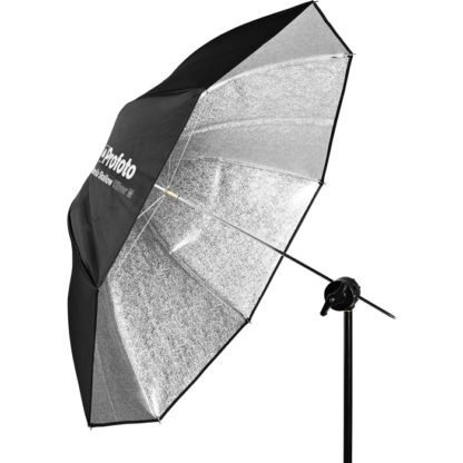 Profoto Medium Shallow Silver Umbrella w Stand