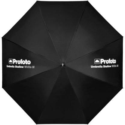 Profoto Medium Shallow White Umbrella Front