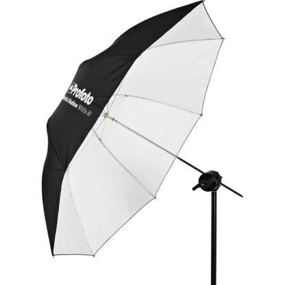 Profoto Medium Shallow White Umbrella w Stand