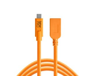15ft USB-C to USB-A Female Adapter - Tether Tools