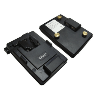 Battery Plate Converter (V-Mount to Gold Mount) – Dynacore